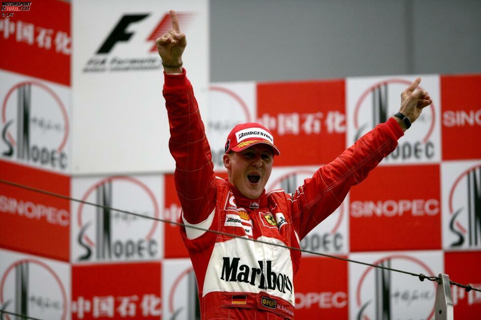 Hattricks (Michael Schumacher - 22): 22-mal sicherte sich