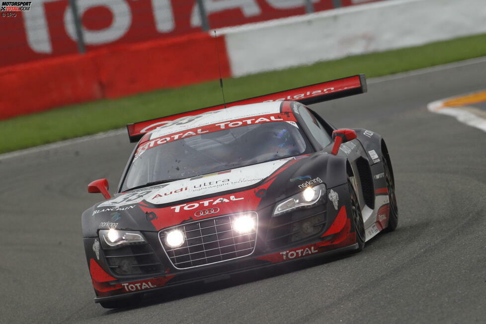 2011: Greg Franchi/Timo Scheider/Mattias Ekström, WRT-Audi #33, 545 Runden
