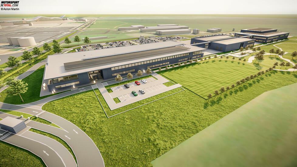 In den drei Gebäuden befinden sich unter anderem ein neuer Windkanal, ein Konferenzzentrum, ein Auditorium, Platz für die Traditionsabteilung und Büros.