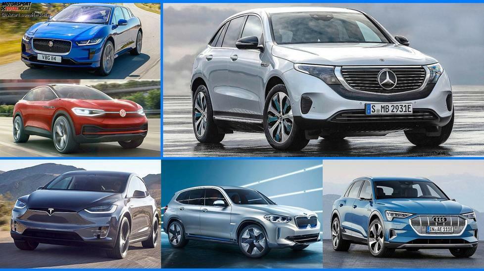 Wir zeigen Ihnen, was die beiden Elektro-SUVs können und wie sie im Verhältnis zur Konkurrenz abschneiden.
