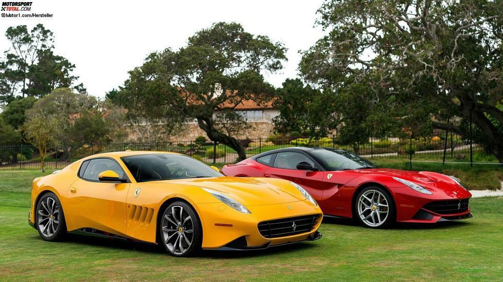 Fotostrecke Das Sind Alle Ferrari Special Projects Foto 17 23