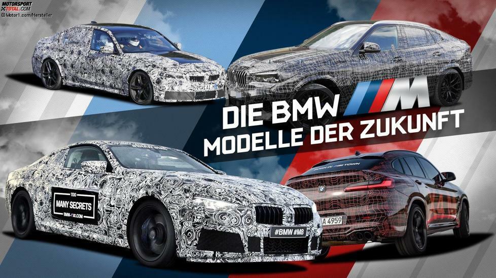 BMW M hat ein volles Programm. Die Neuheiten der Sportabteilung haben wir in dieser Bildergalerie zusammengefasst. Wir haben nur echte M-Versionen (also keine mit dem Zusatz M35i oder M40i wie den X2 M35i oder der Z4 M40i) aufgenommen und nur Modelle, die offiziell bestätigt sind. So sind der BMW M1, Z4 M oder der X7 M nicht enthalten.