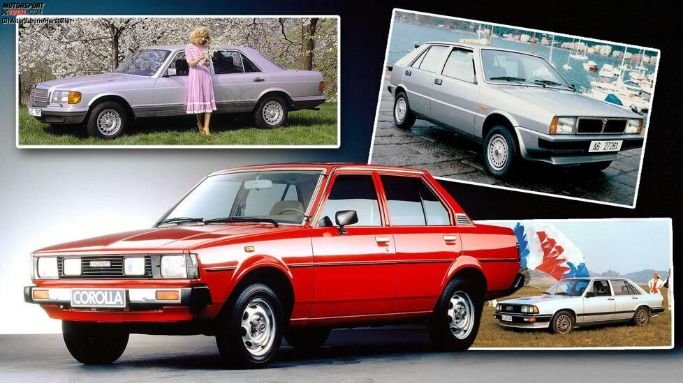 Wir blicken zurück auf die Auto-Neuheiten von 1979: Ob Mercedes G oder VW Golf Cabriolet, vor 40 Jahren erschienen einige Legenden auf vier Rädern.