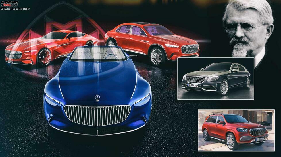 Was hat Mercedes-Maybach noch alles im Angebot?