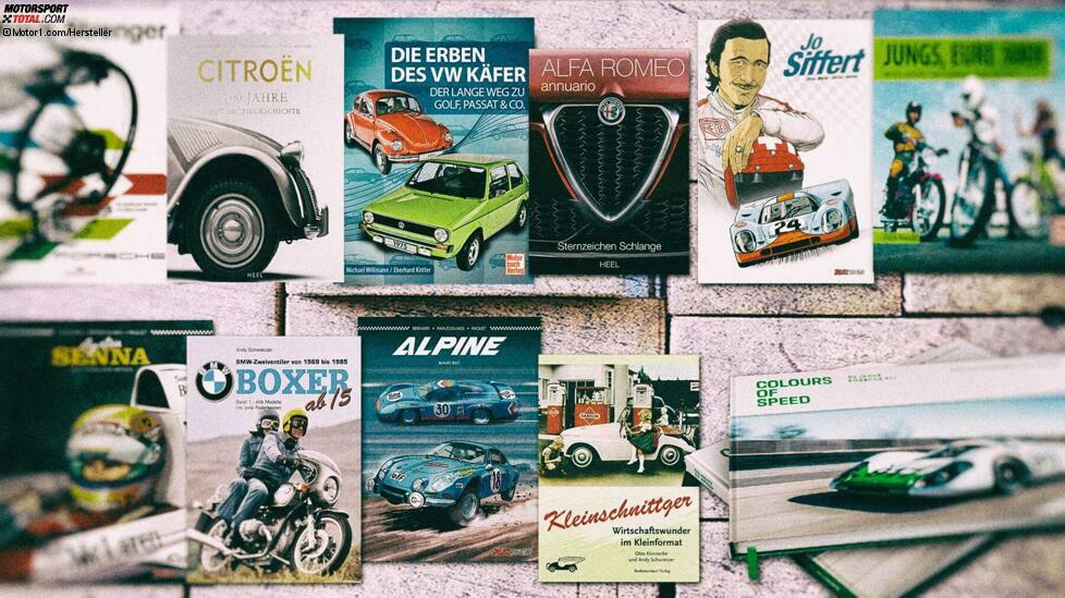 Bald steht Weihnachten vor der Tür. Aber was soll man schenken? Wie wäre es mit einem Buch? Wir zeigen die neuesten Titel im Bereich Auto und Motorrad.