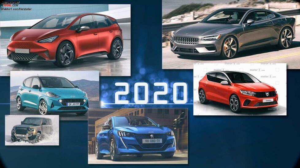 Dank unserer kleinen bescheidenen Seite wissen Sie natürlich schon längst, welche neuen Autos im Jahr 2020 gezeigt werden. Viele Elektroautos sind darunter, aber auch sportliche Modelle. An dieser Stelle präsentieren wir Ihnen die ganz persönliche Neuheiten-Vorschau unserer Redakteure. Auf was ist man besonders gespannt oder freut sich gar darauf? Das Resultat ist teilweise überraschend, wie unsere Bildergalerie von Aiways bis VW zeigt.
