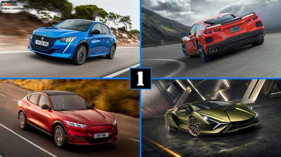 Wir nehmen den Jahreswechsel als Gelegenheit, auf die zehn Autos zurückzublicken, die uns im Jahr 2019 am meisten beeindruckt haben. An Neuheiten gab es keinen Mangel. So stellte Ford ein neues Elektroauto vor, BMW den ersten 1er mit Frontantrieb, Lamborghini seinen ersten Plug-in-Hybrid, Mazda den ersten Serien-Diesotto und Peugeot sein erstes modernesElektroauto (den Ion kann man wohl kaum dazurechnen). VW zeigte die achte Generation des Kompakt-Bestellers Golf und das erste Modell der neuen ID-Reihe, den ID.3. Auch bei den Sportwagen tat sich was, vom elektrisch angetriebenen Taycan mit fast 800 PS bis zum 718 Cayman GT4 mit traditionellem Sechszylinder-Boxer. Wir zeigen Ihnen diese Highlights in einer Fotostrecke. Mehr alte und neue Neuheiten:Neuheiten 2019, 2020: Alle neuen Autos im ÜberblickDie 10 wichtigsten Auto-Neuheiten des Jahres 1979