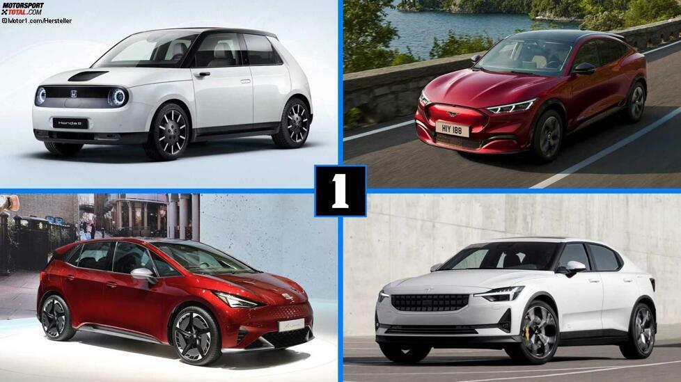 Im Jahr 2020 startet ein Elektroauto nach dem anderen. Zu den Highlights gehören VW ID.3, der Ford Mustang Mach-E, der Porsche Taycan und viele mehr. Wir stellen Ihnen die interessantesten Neuheiten mit den wichtigsten Daten vor.