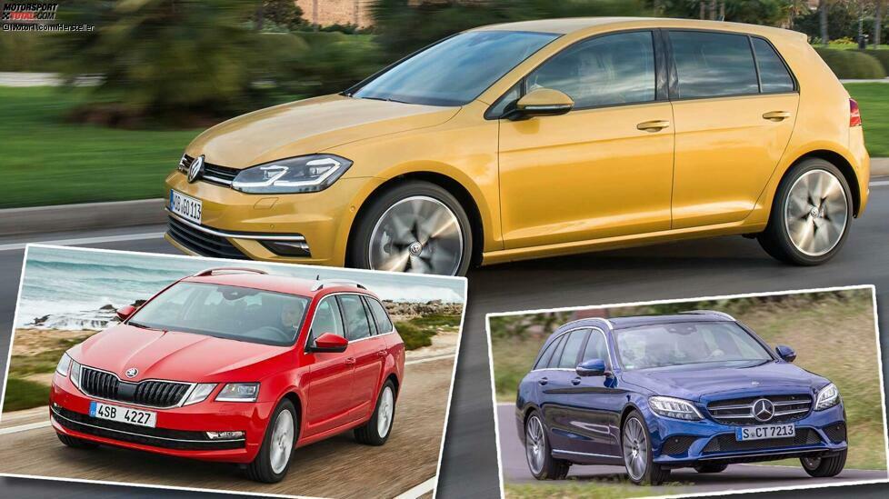 Welche Autos kaufen die Deutschen am liebsten? Klicken Sie sich durch!
