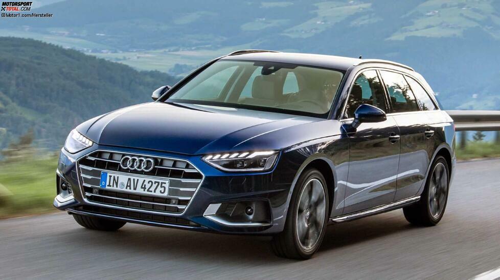 Unsere Top 10 der beliebtesten Autos 2019 beginnt mit dem zehnten Platz, um die Spannung etwas aufrechtzuerhalten. Dort parkt der Audi A4. Deutlich über die Hälfte der Neuzulassungen im vergangenen Jahr wies einen Diesel auf. Kein Wunder, ist der A4 doch ein gern gesehener Dienstwagen. 50.740 Audi A4 wurden 2019 neu zugelassen, davon 31.753 als Diesel.