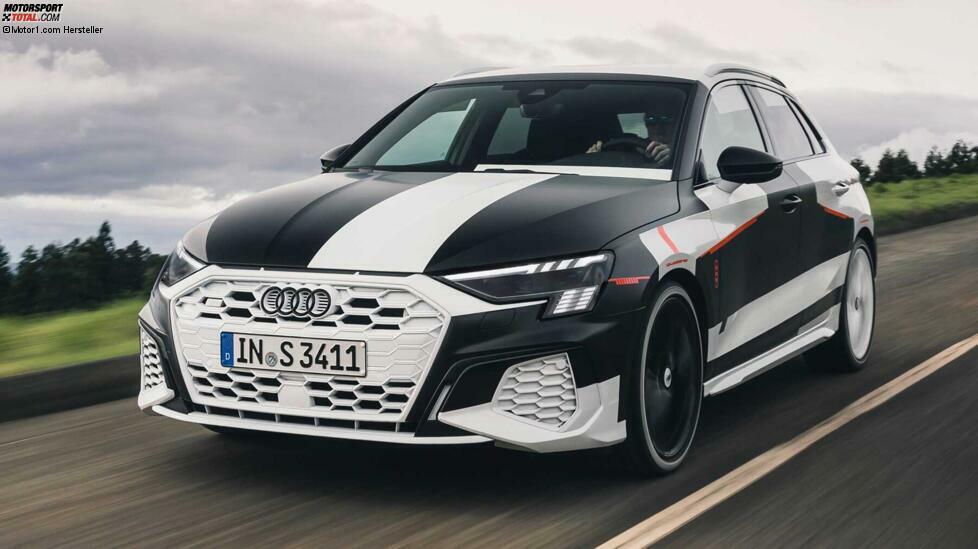 Der neue VW Golf wurde vorgestellt, der neue Seat Leon und der Skoda Octavia ebenfalls. Was fehlt dann noch in der Reihe der Kompakten aus dem VW-Konzern? Richtig, der Audi A3. Er feiert in Genf Premiere wie der Leon, aber anders als dieser ist der Audi dort auch erstmals zu sehen. Wir können einstweilen nur einen getarnten S3 zeigen, den wir aber bereits getestet haben.