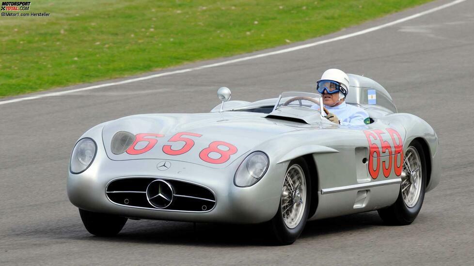 Reihen-Achtzylindermotoren waren nicht gerade ungewöhnlich, da es zu Beginn des 20. Jahrhunderts viele Fahrzeuge mit L8-Blöcken gab. Aber heute gibt es sie nicht mehr, stattdessen Achtzylindermotoren, aber in einer V-Form angeordnet, die viel kompakter ist. Der erste Reihen-Achter wurde wahrscheinlich von Daimler hergestellt, obwohl später auch Marken wie Bugatti, Opel oder Buick das Prinzip verwendeten. Im Motorsport wurde der Reihen-Achtzylinder auch von Firmen wie Duesenberg oder Alfa Romeo eingesetzt, eines der letzten Modelle war der Mercedes-Benz 300 SLR, mit dem Stirling Moss (im Bild) 1955 die Mille Miglia gewann.