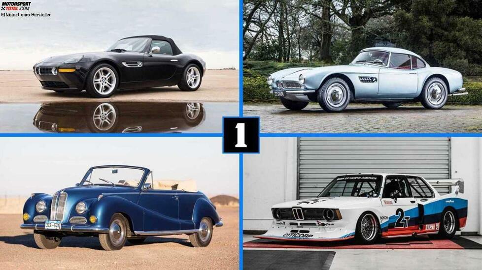 Bayerische Meister-Werke vom 3.0 CSL bis zum Z8: Die seltensten und teuersten BMWs, die in den letzten Jahren versteigert wurden ...
