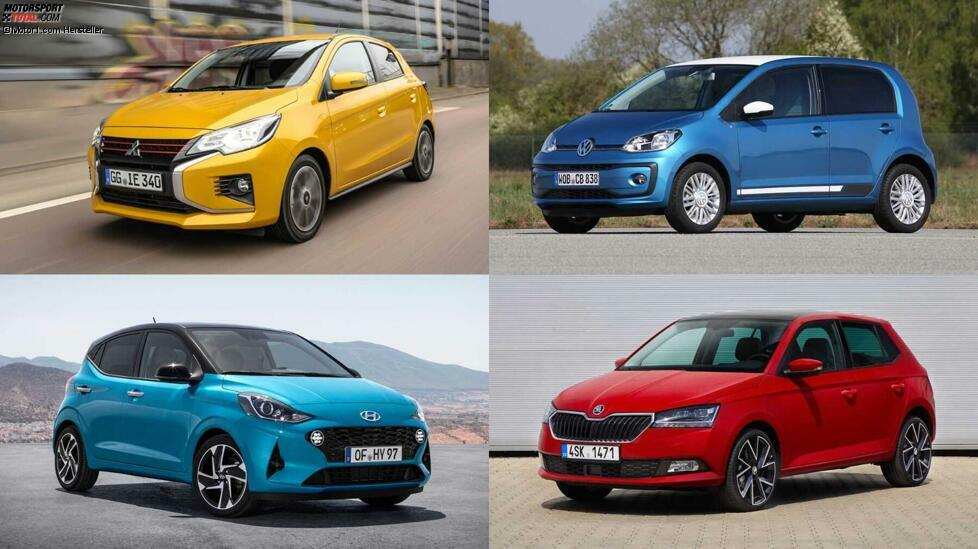 Die Besten von hinten - bei Sprintzeit und Spitze: Hier zeigen wir die zehn lahmsten Autos auf dem Markt ...
