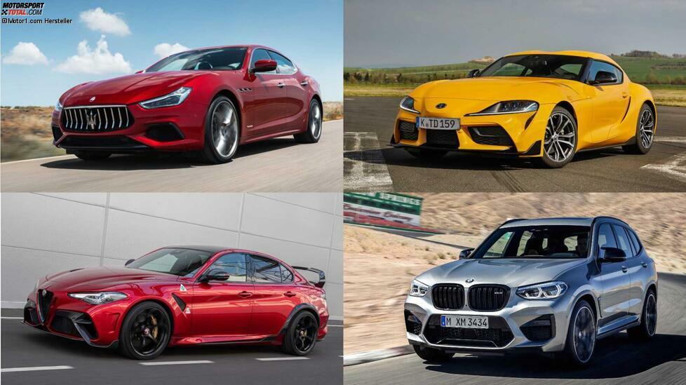 Es gibt sie noch: die starken Sechszylinder - Zehn PS-starke Reihen-, V- und Boxer-Motoren ohne Hybridisierung ...
