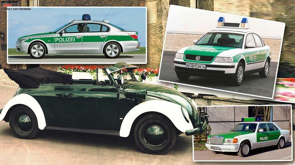 Historische Polizeifahrzeuge: So fuhren unsere Freunde und Helfer früher ...