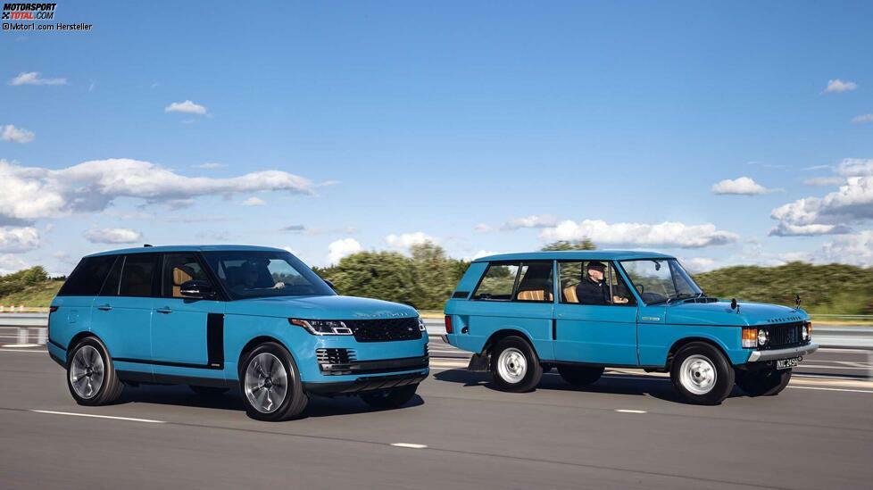 Der Range Rover feiert runden Geburtstag! Die Geschichte der britischen 4x4-Ikone in Bildern ...