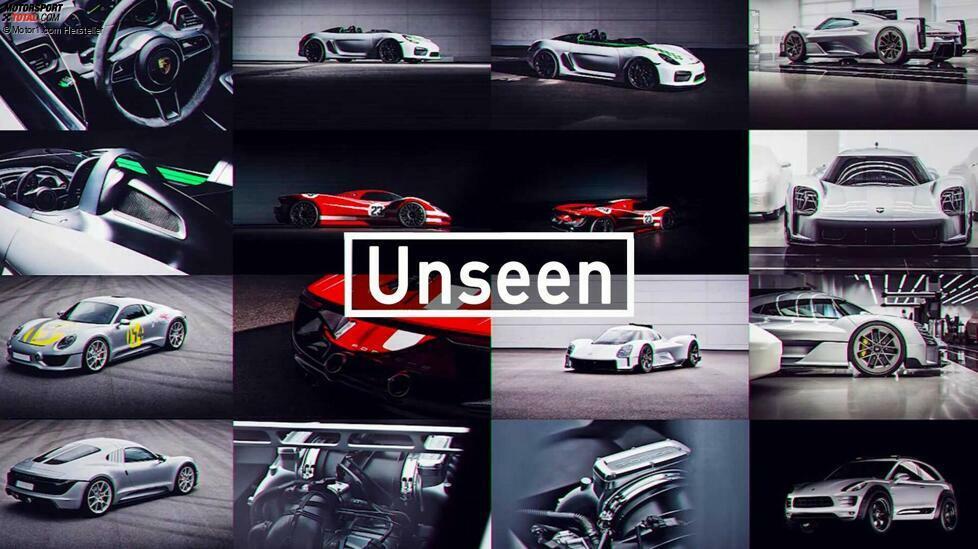 Designchef Michael Mauer hat einige Überraschungen aus dem Keller geholt! Wir zeigen noch nie gezeigte Designentwürfe von Porsche ...