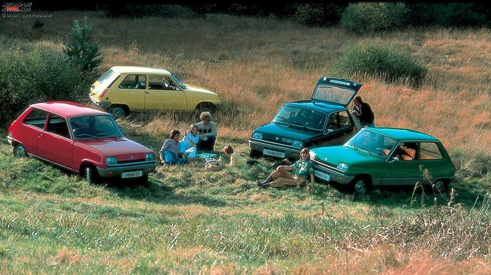 Die Studie eines neuen Renault 5 hat uns begeistert. Ein guter Grund, um in die Vergangenheit zu blicken ...