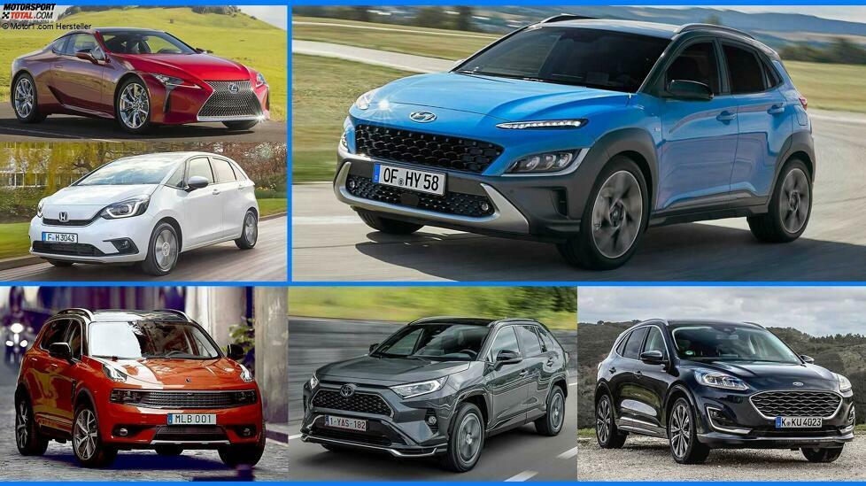 Sparsame Alternativen zu Diesel und Plug-in-Hybrid: hier sind die Vollhybrid-Autos 2021 in der Übersicht ...