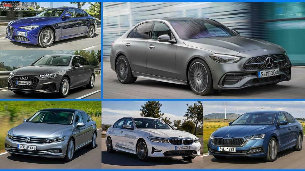 Die neue Mercedes C-Klasse kommt - darf es eine Alternative sein? A4 und 3er sind klar, aber es gibt sogar hauseigene Konkurrenz ...