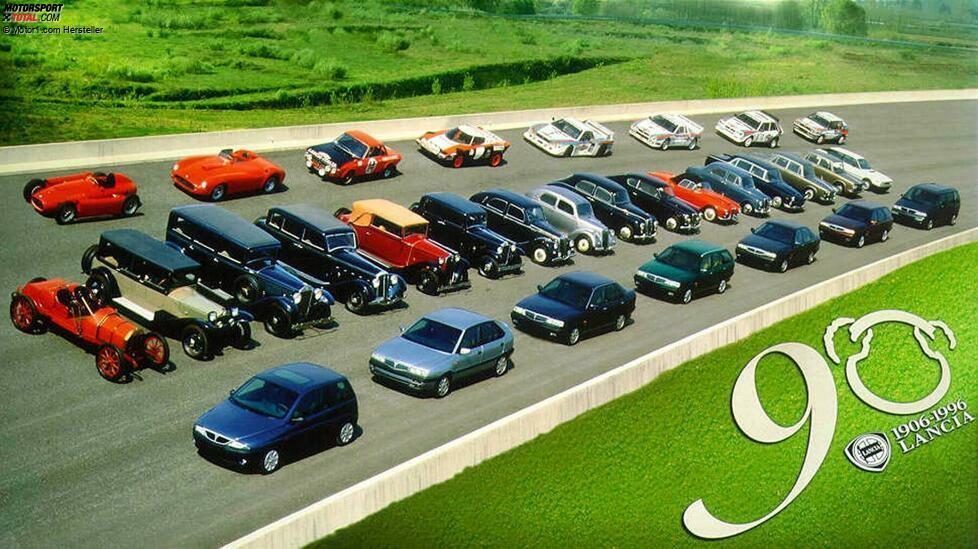 Technik-Pioniere, Rallye-Ikonen und fiese Flops: Wir zeigen die 10 wichtigsten Lancia-Modelle ...