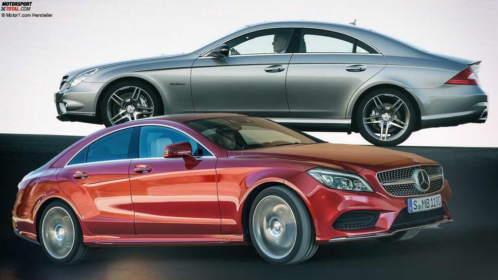 Die Geschichte des Mercedes CLS - Anfangs umstritten, hat sich die Coupé-Limousine inzwischen etabliert ...