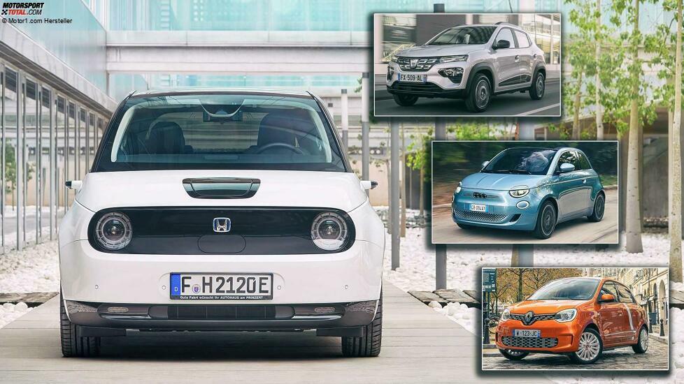 Kleine Elektroautos für die Stadt: Tatsächlich gibt es hier weniger Auswahl, als man denkt ...