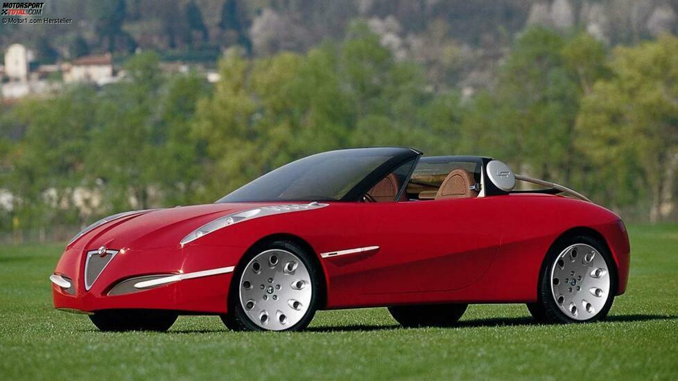 Wie könnte der Erbe des Duetto aussehen? Alfa hat seit 1971 darüber nachgedacht ...