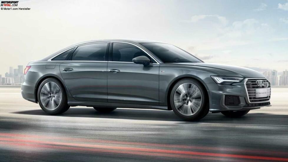 Der Audi A6L wurde 2018 auf der Guangzhou Auto Show vorgestellt und ist Audis Antwort auf den