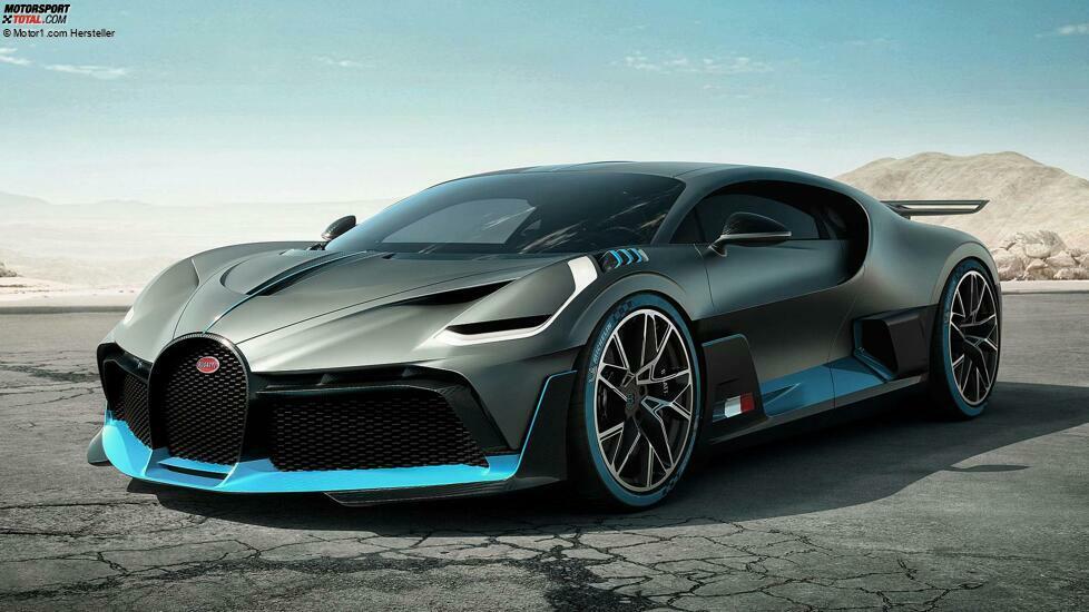 Bugatti Divo: Premiere für den nachgeschärften Chiron