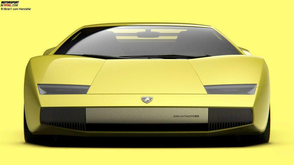 Lamborghini Countach 50 Rendering