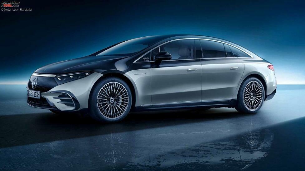 2022 Mercedes-Benz EQS 580 Edition One Außenfront Quarter