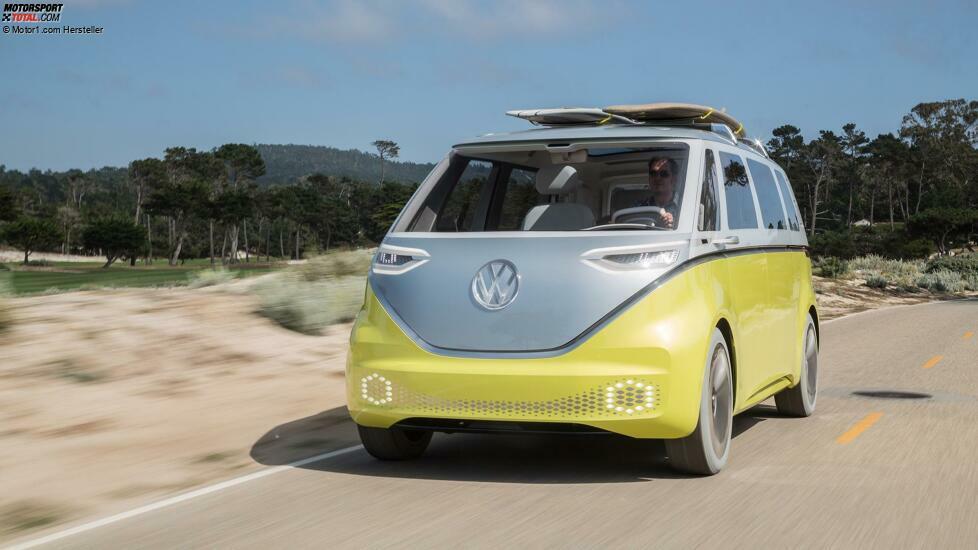 Volkswagen I.D. Buzz Concept am Pebble Beach