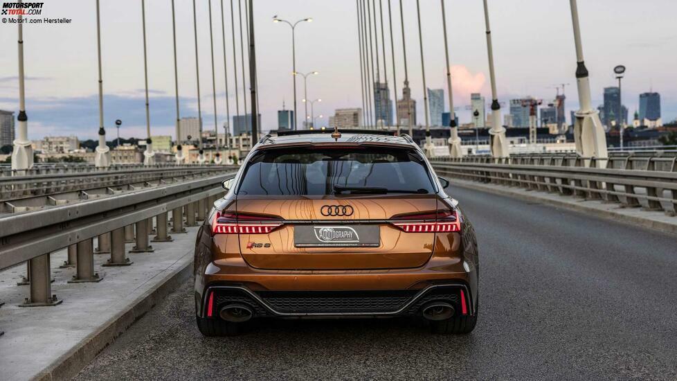 Audi RS6 Avant in Ipanema Braun