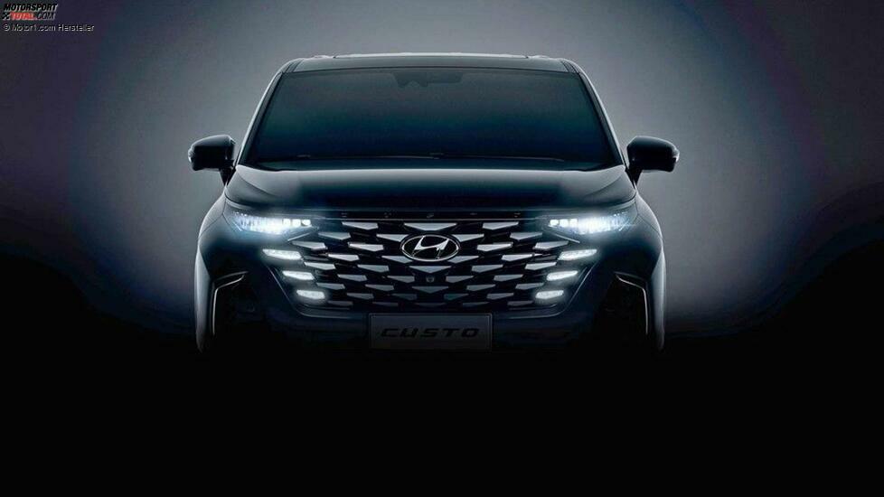 Hyundai Custo (2022) auf ersten Teaserbildern