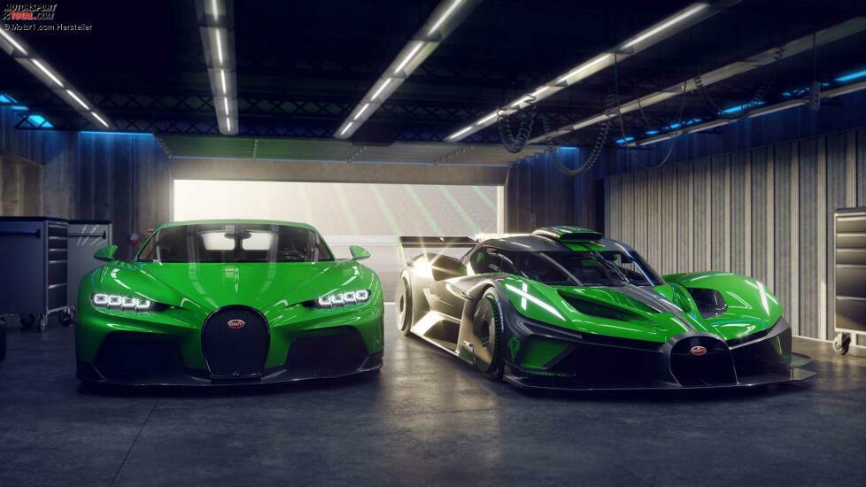 Bugatti Bolide (2021)