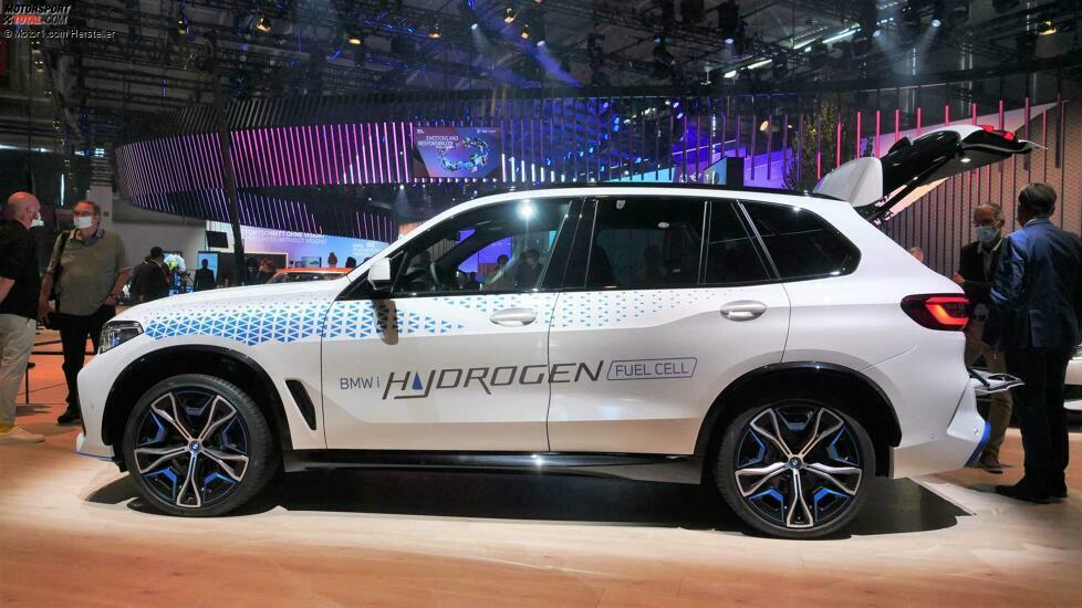 BMW iX5 Hydrogen live, IAA 2021