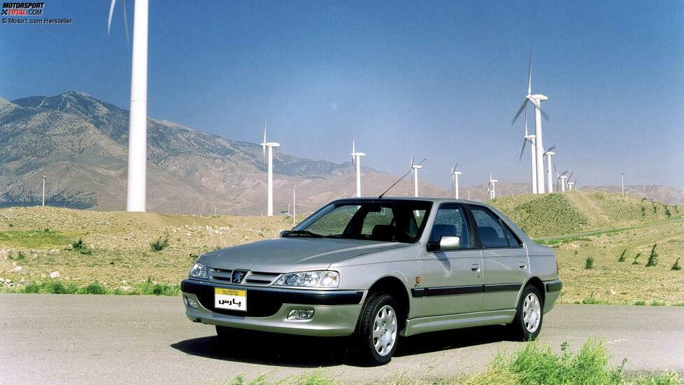 Irans Peugeot 405