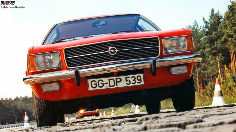 Opel Rekord D (1972-1977)