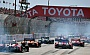 IndyCars in Long Beach