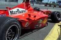 Barrichellos zerstörter Ferrari