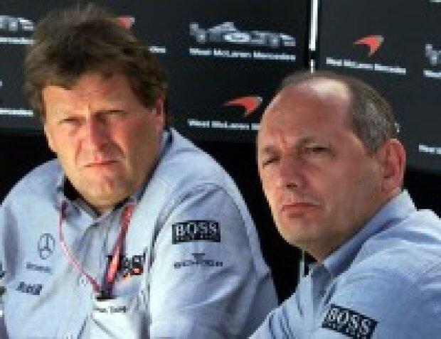 Ron Dennis und Norbert Haug
