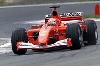 Michael Schumacher auf dem Nürburgring in Aktion