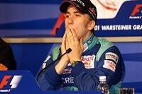 Nick Heidfeld auf der Pressekonferenz der FIA
