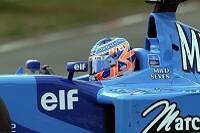 Jenson Button im B201
