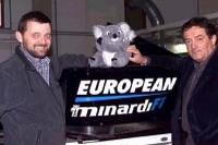 Paul Stoddart und Gian Carlo Minardi