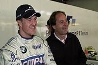 Gerhard Berger und Ralf Schumacher