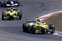 Jarno Trulli  und Heinz-Harald Frentzen