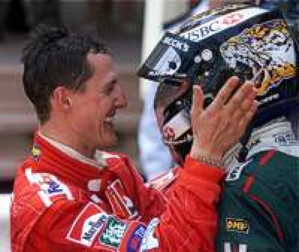 Schumacher und Irvine